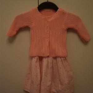 Kleid abricot
