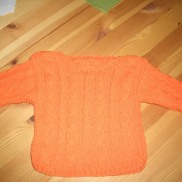 Zopf-Pulli orange