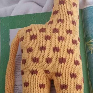 Giraffe Rückseite