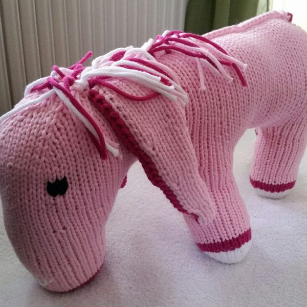 Esel rosa_