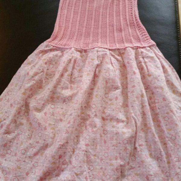 2 Kleid abricot
