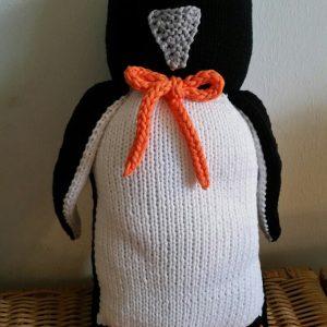 Pinguin m Fach f kl Wärmeflasche