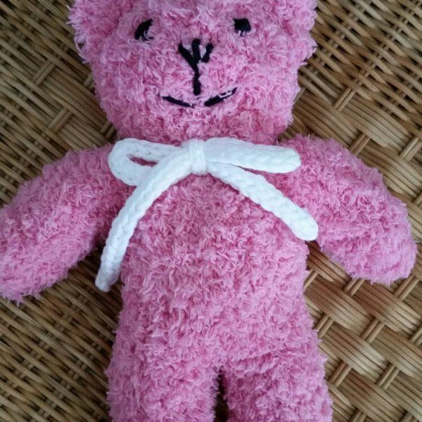 Plüschteddy pink klein